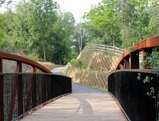 Bennett Arboretum Pathway