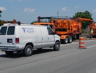 Drain Inspections Under I-696