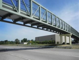 Clinton River Trail Bridge over Telegraph (US-24)