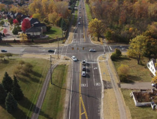 Hamlin Road Reconstruction