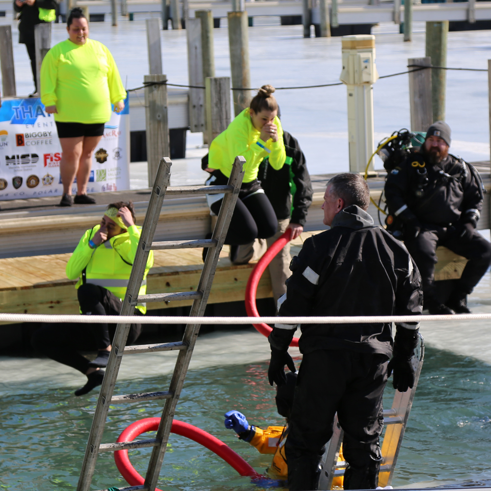 Polar Plunge for Special Olympics