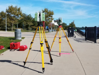 East Riverwalk 3D Scanning – Uniroyal Site